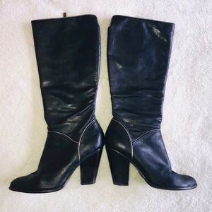 Frye Betty Knee High Heeled Boots Size 8.5